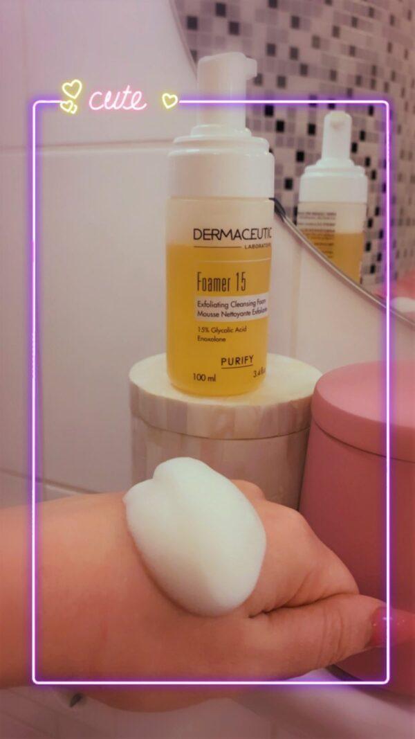 Dermaceutic Foamer 15 gezichtreiniger