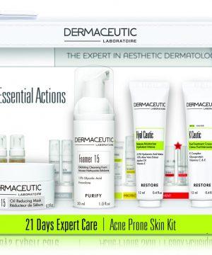 Dermaceutic kit 21days Expert Care Kit- Acne Prone