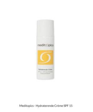 Meditopics Hydraterende Creme SPF15 + UVA
