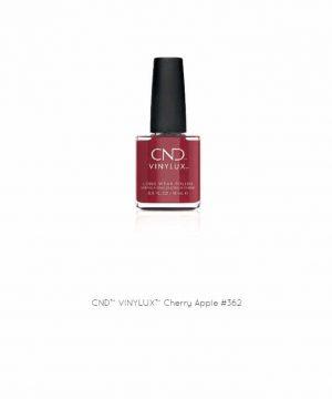 CND Vinylux Cherry Apple #362