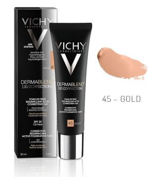 Vichy dermablend foundation 45 gold