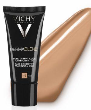 Vichy dermablend foundation 45 gold SPF 35